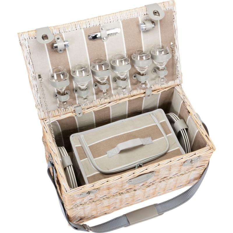 Chinon Picnic Basket for 6