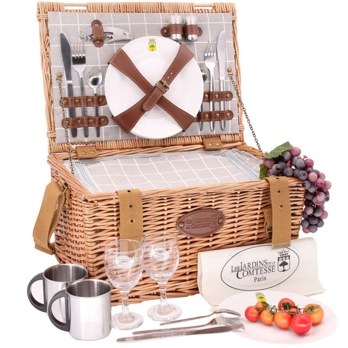 Concorde Picnic Basket for 2