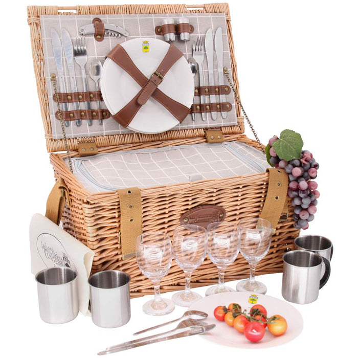 Concorde Picnic Basket for 4 People