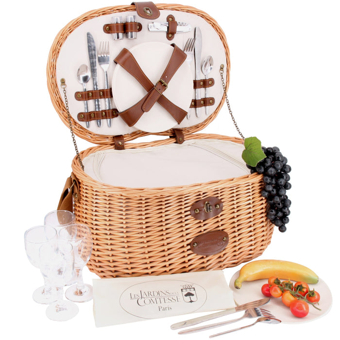 Vendôme Picnic Basket for 4 People