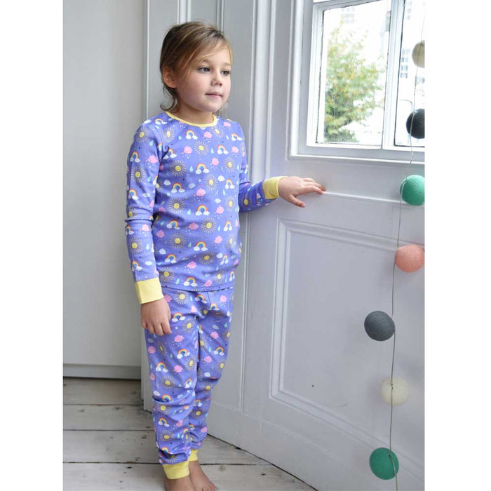 SUNSHINE  KNIT PYJAMAS