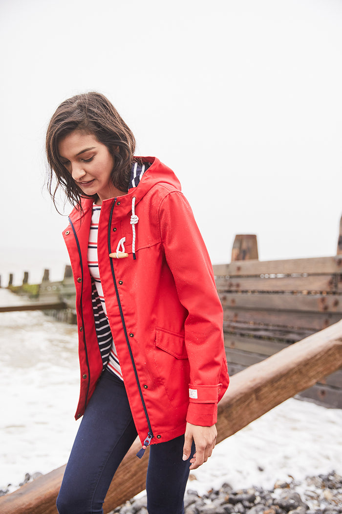 Joules New Coast Jacket - Red