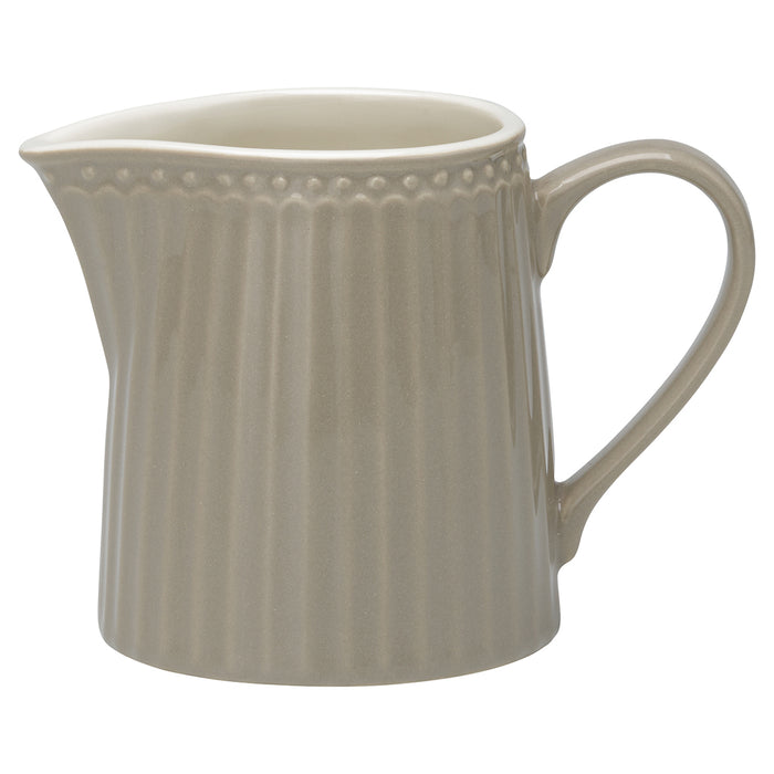 GreenGate Creamer Alice - Warm Grey