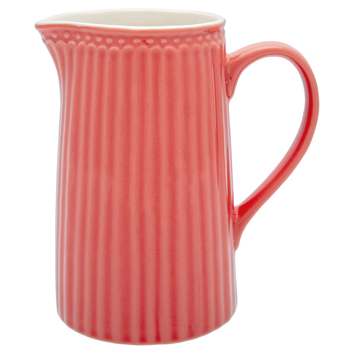 GreenGate Jug Alice - Coral