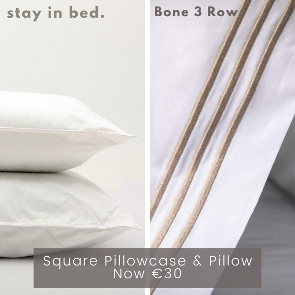 3 Row Bone Pillow Bundle