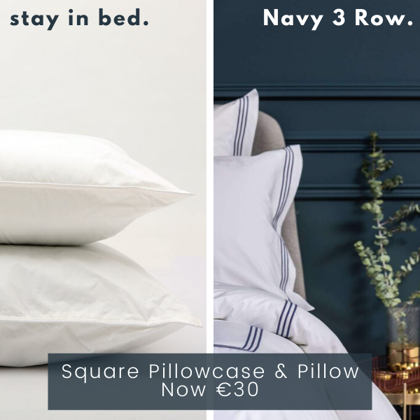 3 Row Navy Pillow Bundle