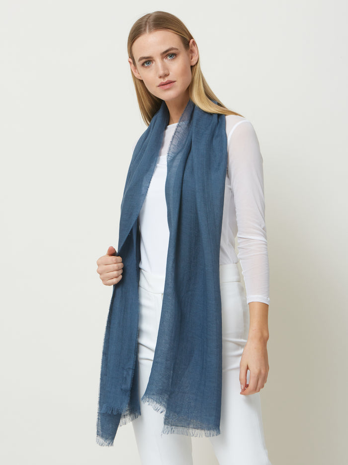 Linen Steal Scarf