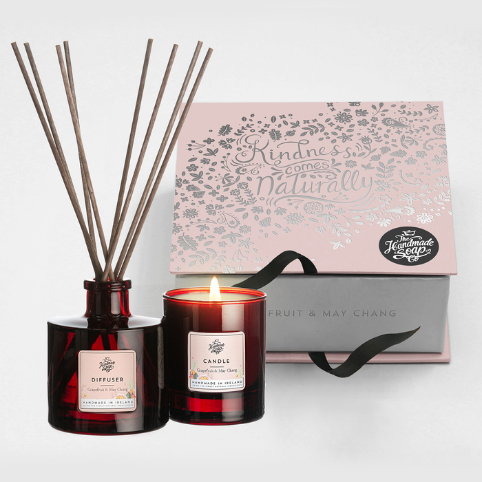 Grapefruit and May Chang - Diffuser & Candle Gift Set