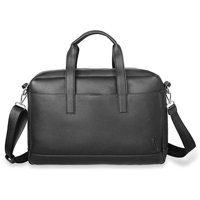Tipperary Crystal- Saville Row Black Men's Satchel
