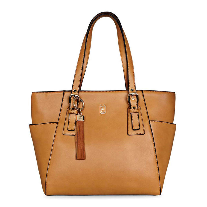 Tipperary Crystal- The Grafton Tote Tan