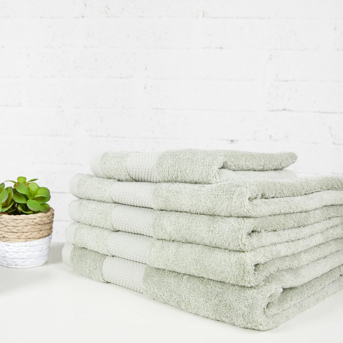 Green Everyday Towels