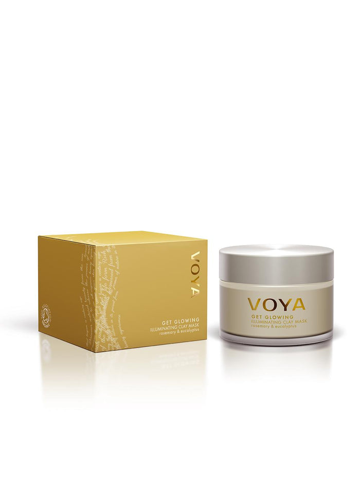 Voya Get Glowing - Illuminating Organic Clay Mask