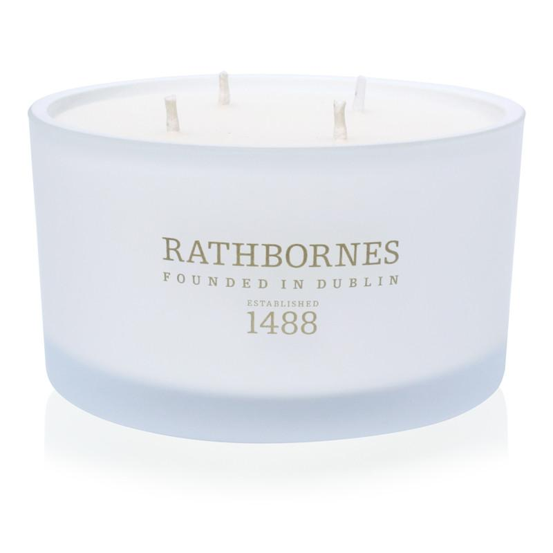 Rathbornes White Pepper, Honeysuckle and Vertivert - Luxury Candle