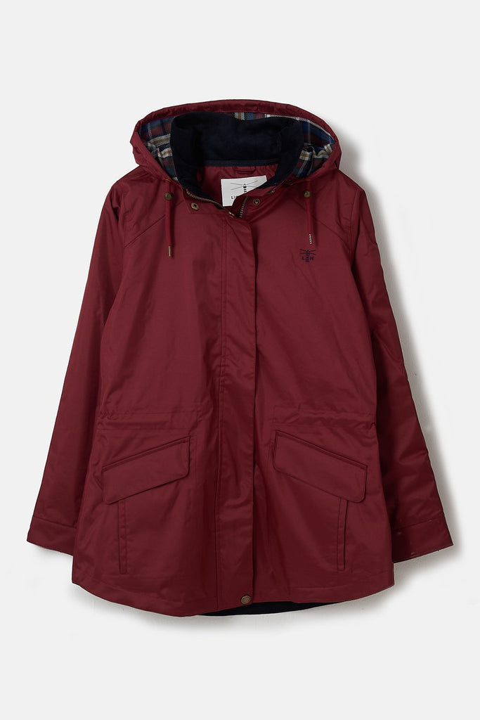 Lighthouse Kendal Raincoat - Berry