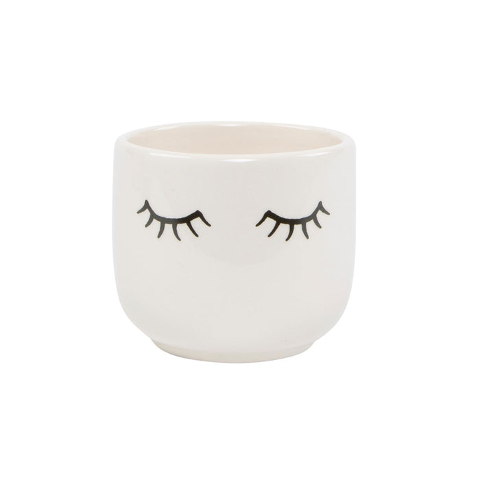 Mini Eyes Shut Planter