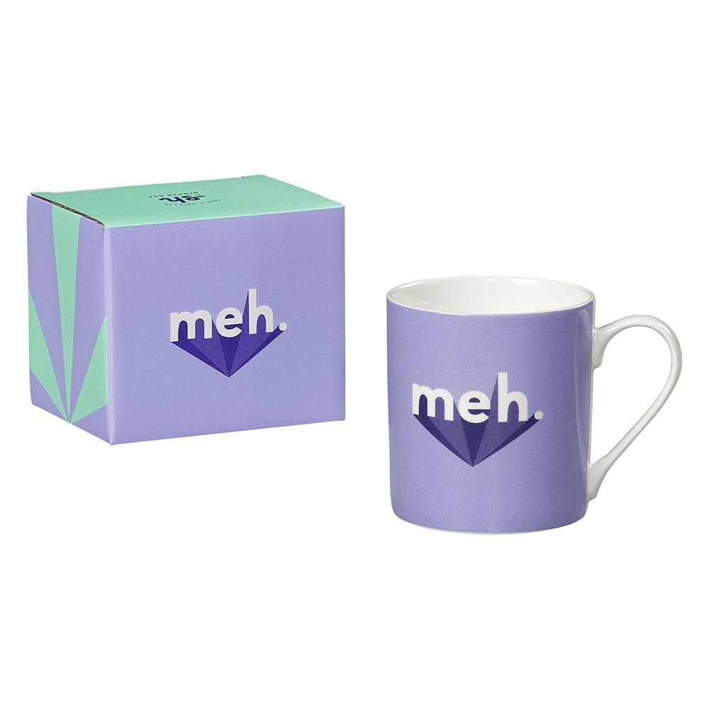 Yes Studio 'Meh' Ceramic Mug