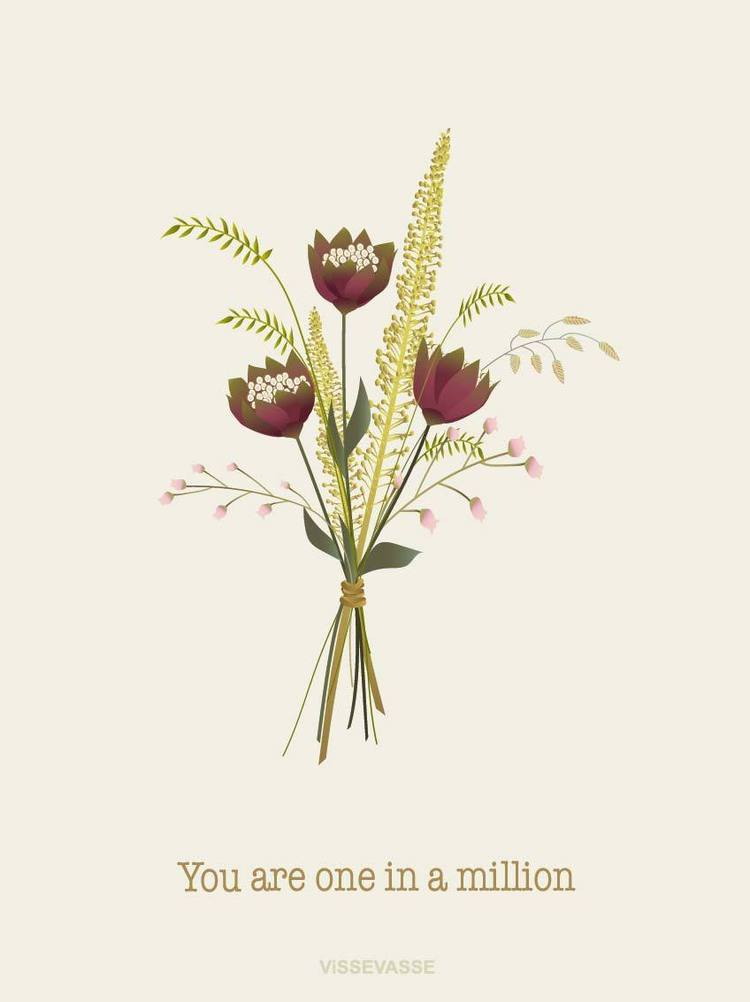 You are One in a Million Greeting Card