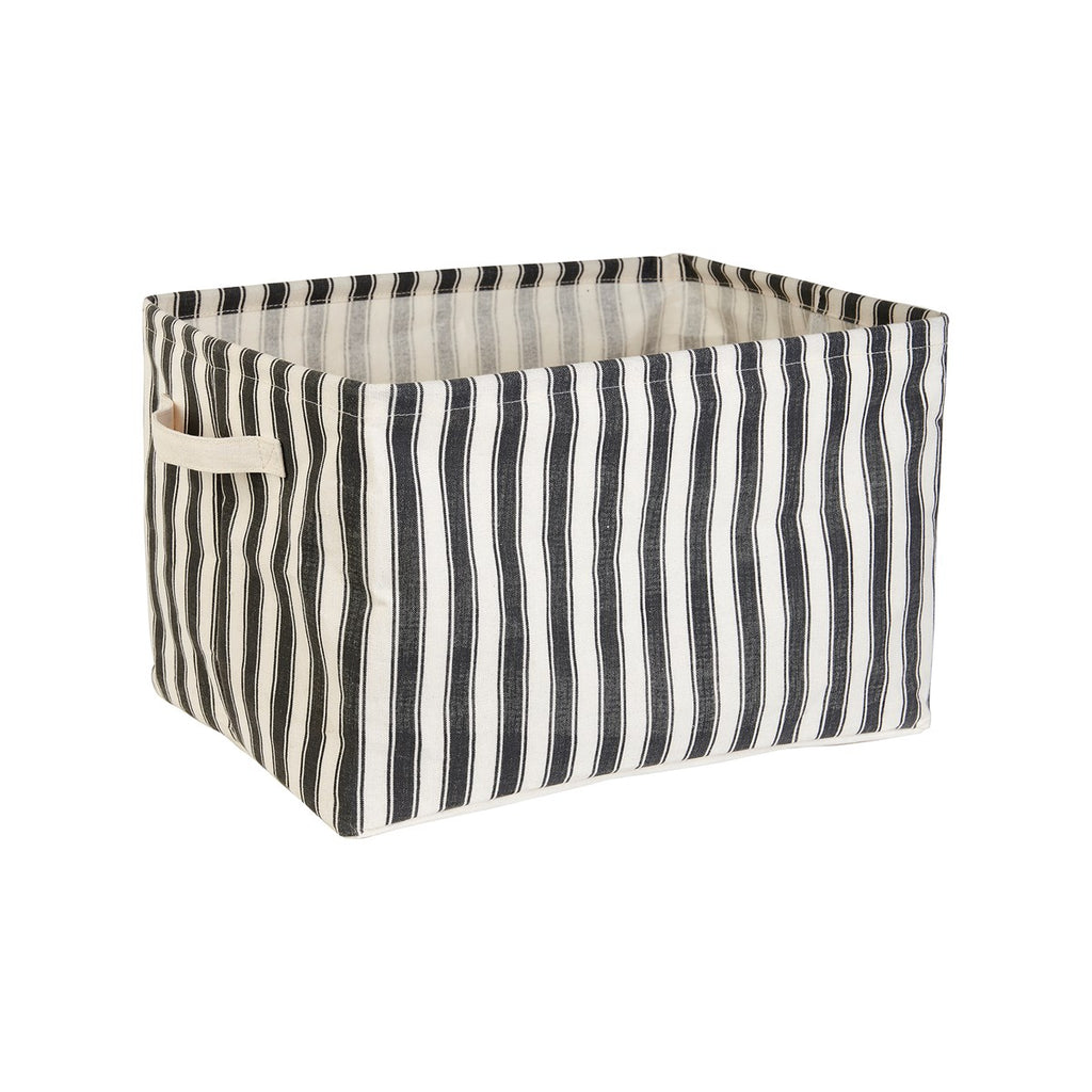 Ticking Stripe Storage Baskets - Set of 2