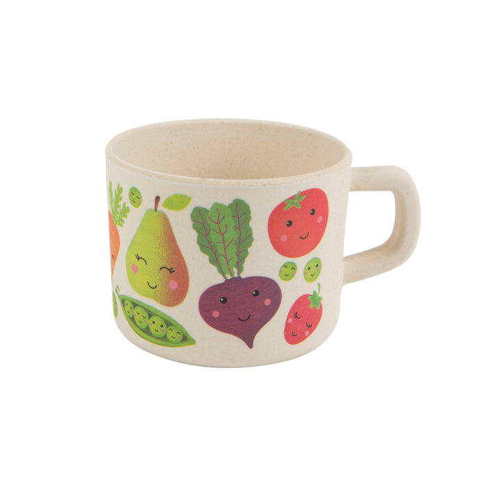 Happy Fruit and Veg Bamboo Kid's Mug