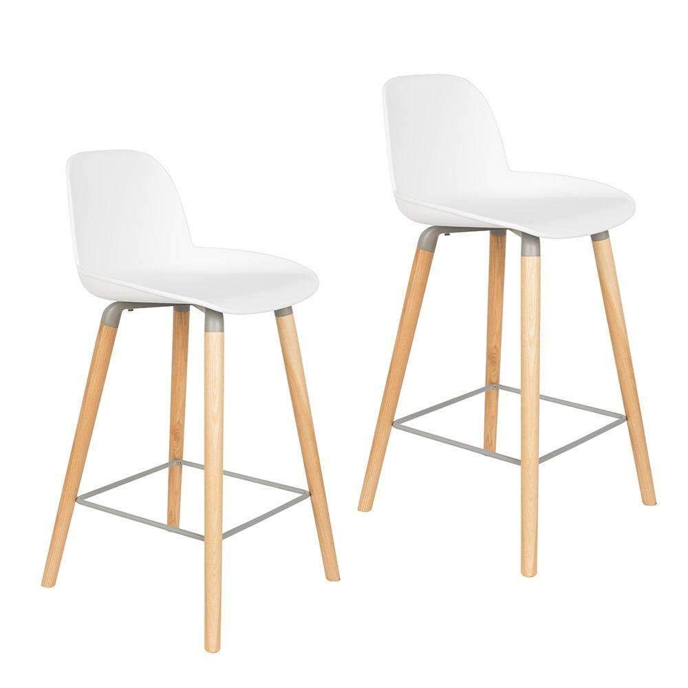 Albert Kuip Counter Stool - White SALE
