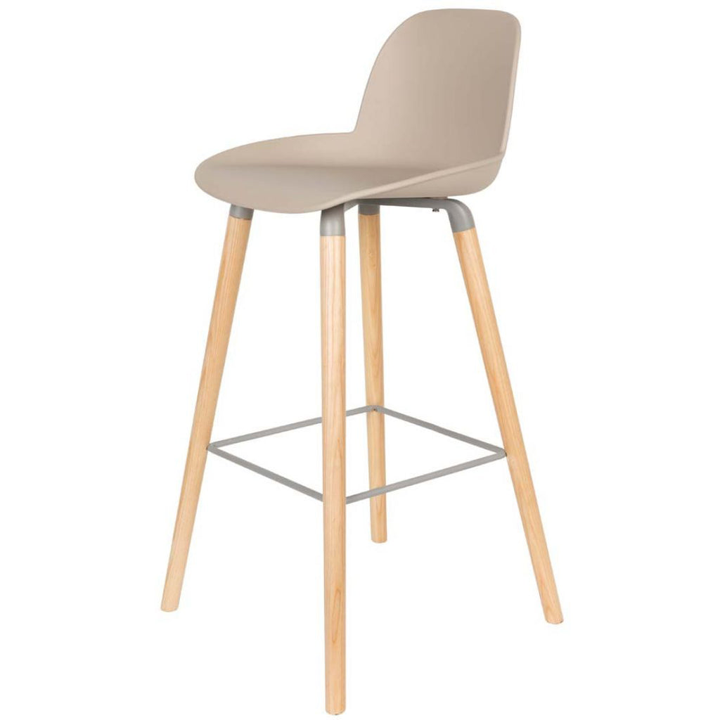 Albert Kuip Counter Stool - Taupe
