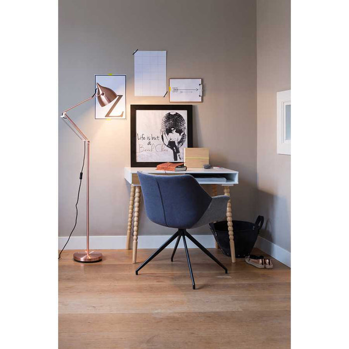 Reader Floor Lamp - Copper