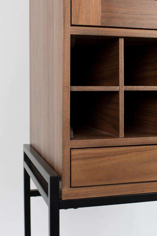 Travis Walnut Cabinet