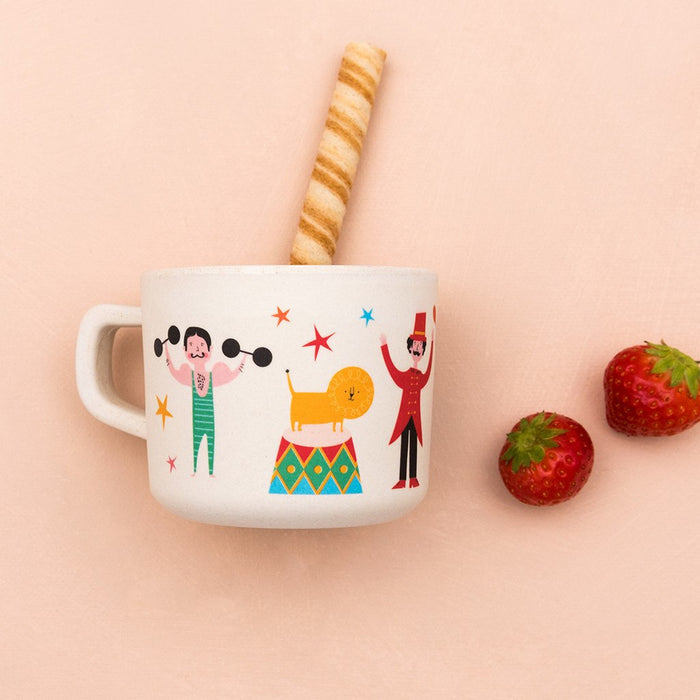 Big Top Circus Bamboo Cup