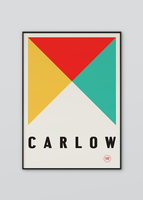 Carlow Flag Poster
