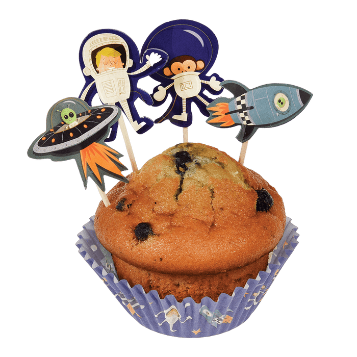Space Adventures Cupcake Kit