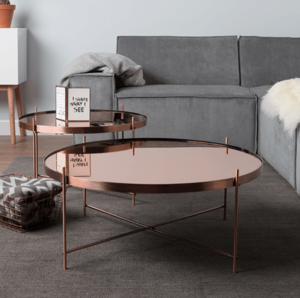 Cupid Side Table XXL Copper