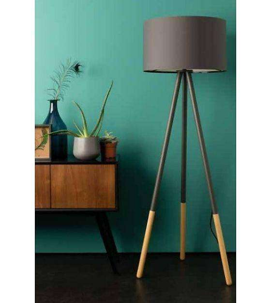 Highland Floor Lamp - Grey
