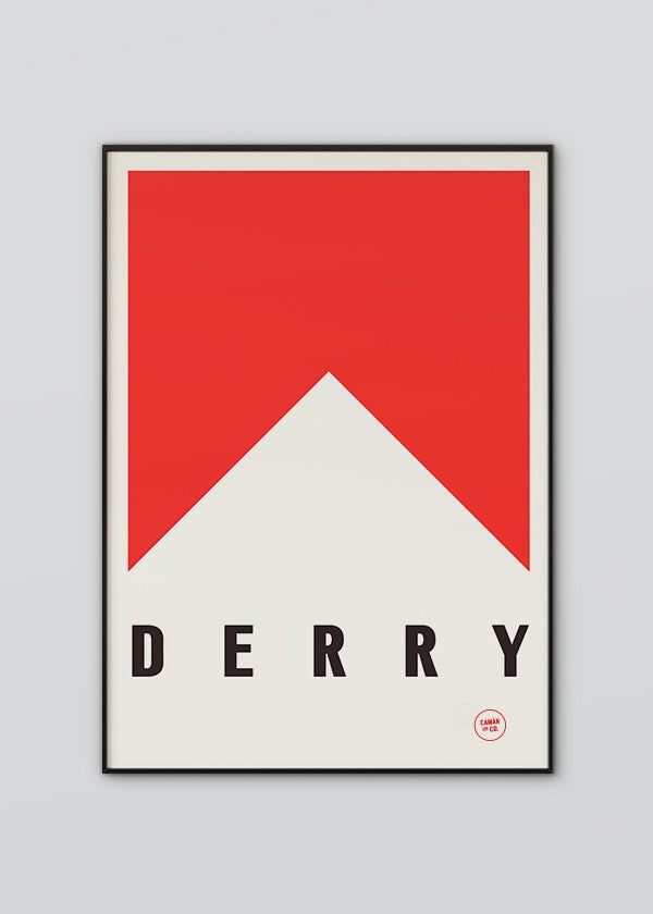 Derry Flag Poster