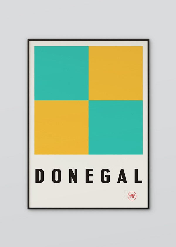 Donegal Flag Poster
