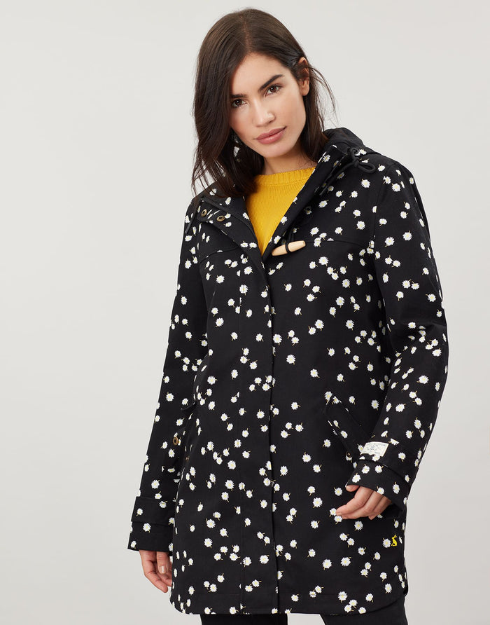 Joules Coast Mid Printed Waterproof Jacket