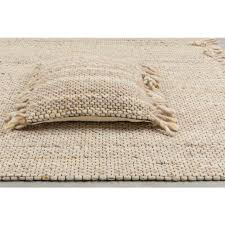 Beige & Yelllow Frills Carpet 170 x 240cm