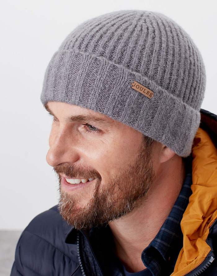 Joules French Grey Bamburgh Hat