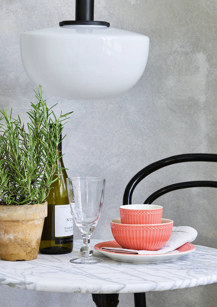 GreenGate Cereal Bowl Alice - Coral