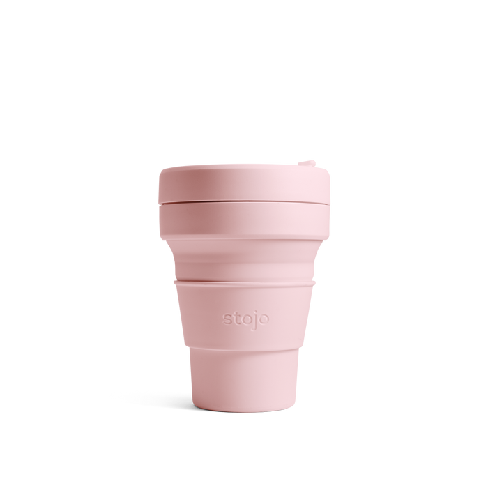 Stojo Carnation Pocket Cup 12oz