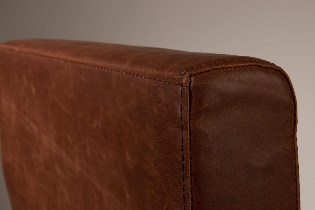 Fez Vintage Lounge Chair - Brown