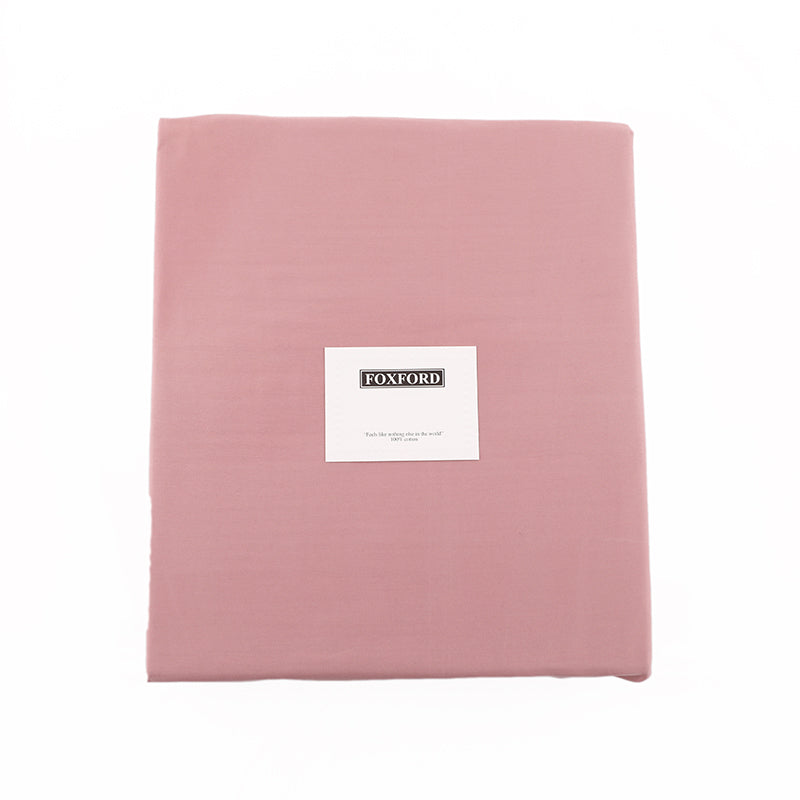 Foxford Classic Dusty Pink Sateen Fitted Sheet