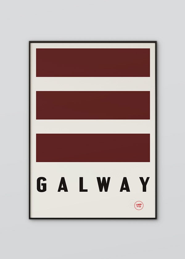 Galway Flag Poster
