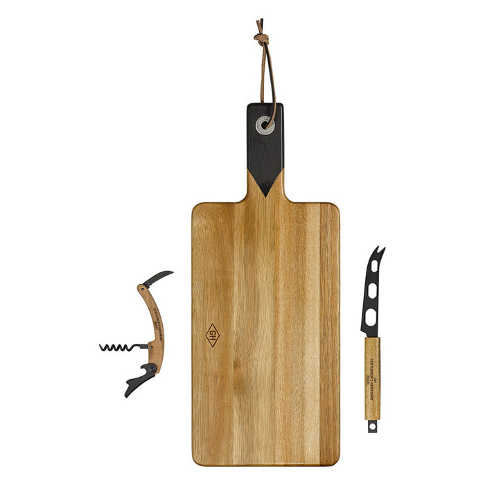 Cheese & Wine Set with Knife & Bottle Opener