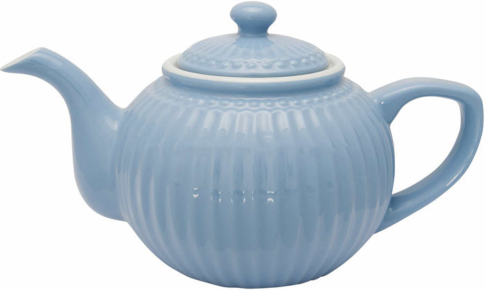 GreenGate Teapot Alice - Sky Blue