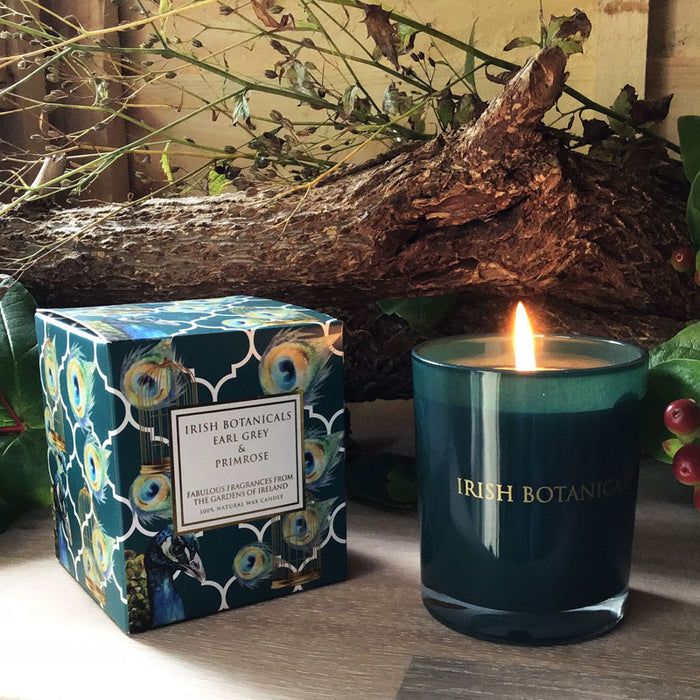 Irish Botanicals - Earl Grey & Primrose Candle
