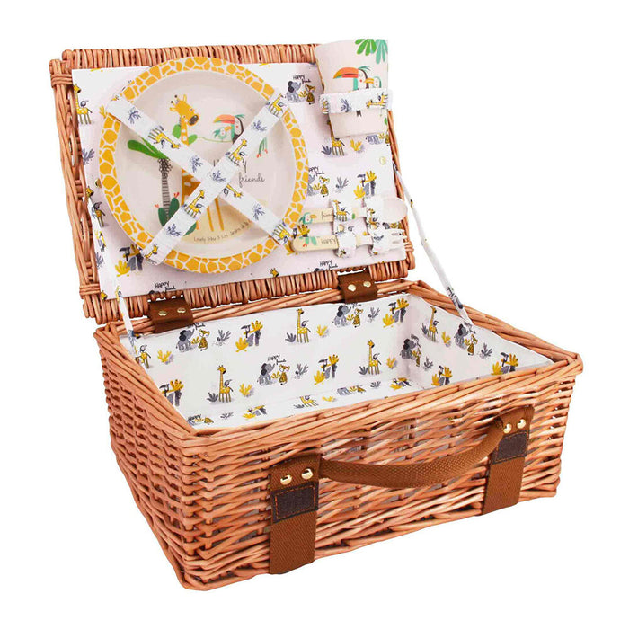 Gigi The Giraffe - Kids Picnic Basket