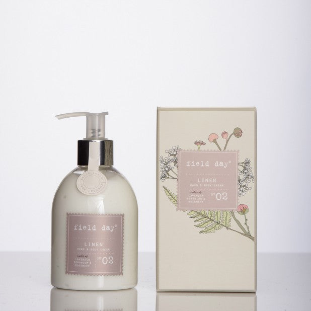 Linen Hand and Body Cream