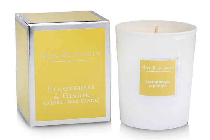 Lemongrass and Ginger Max Benjamin Candle
