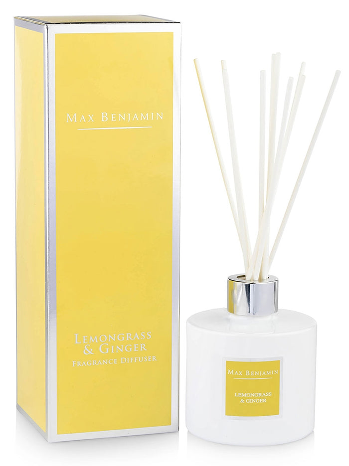 Lemongrass and Ginger Max Benjamin Diffuser
