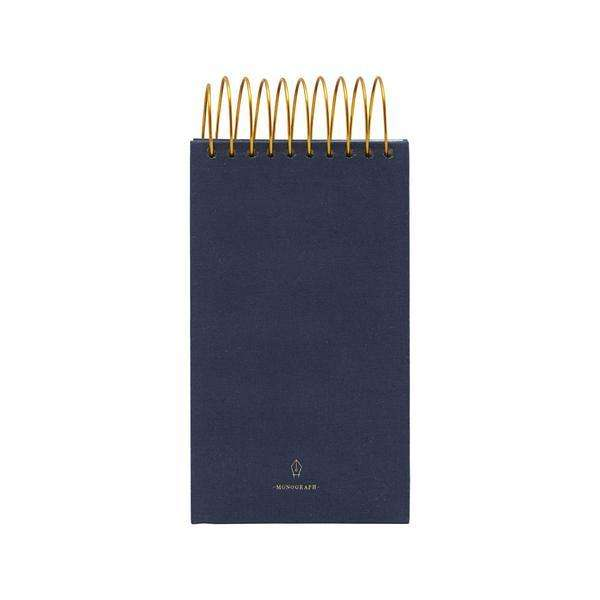 Blue Monograph Notepad